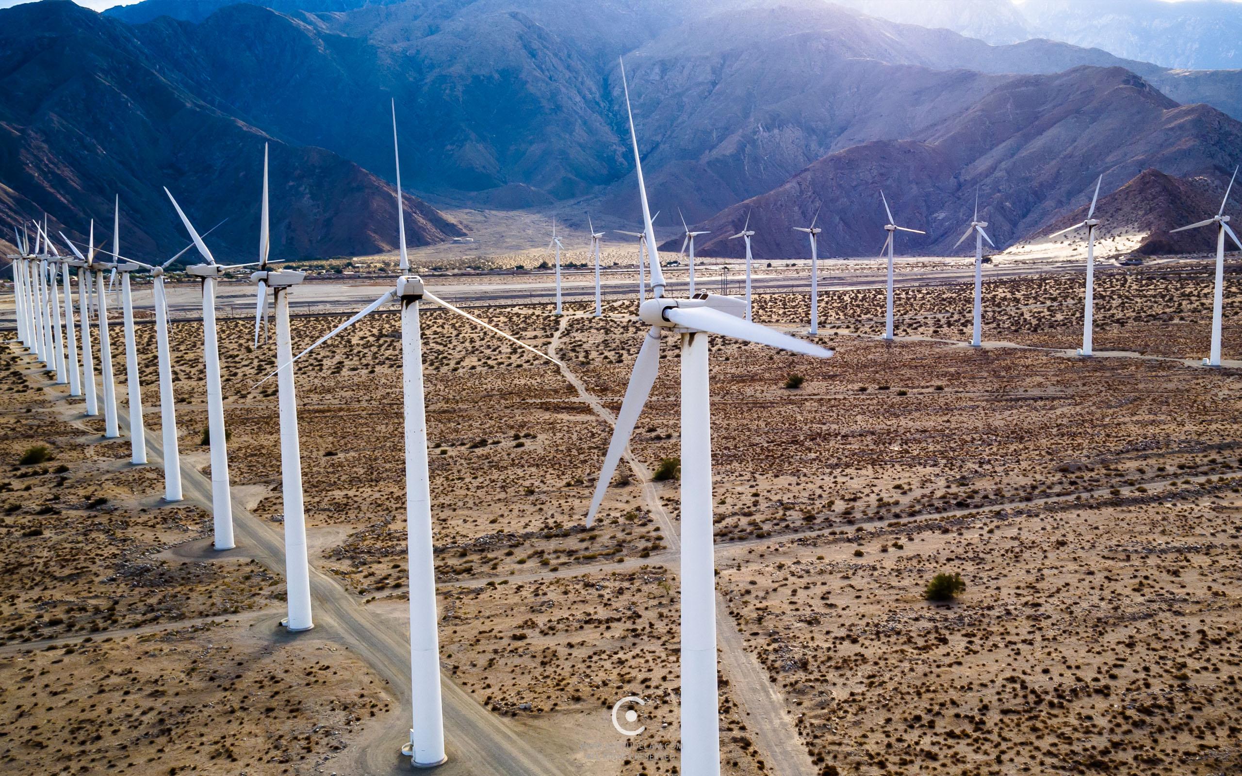 Windfarm Palm Springs, CA